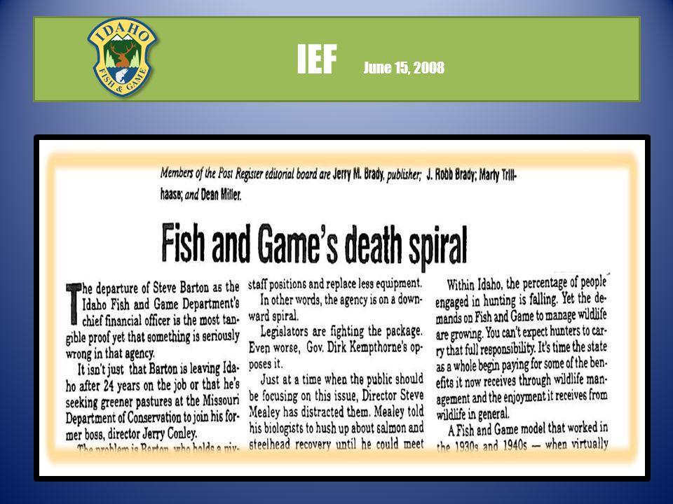 IEF June 15, 2008