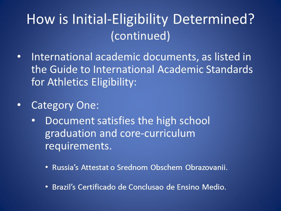 Core-Course Time Limitation Only courses completed in grades nine through 12 will be considered.