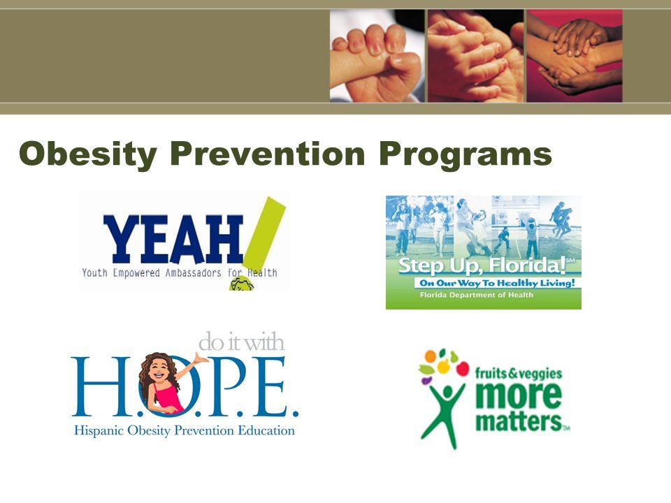 Obesity Prevention Programs