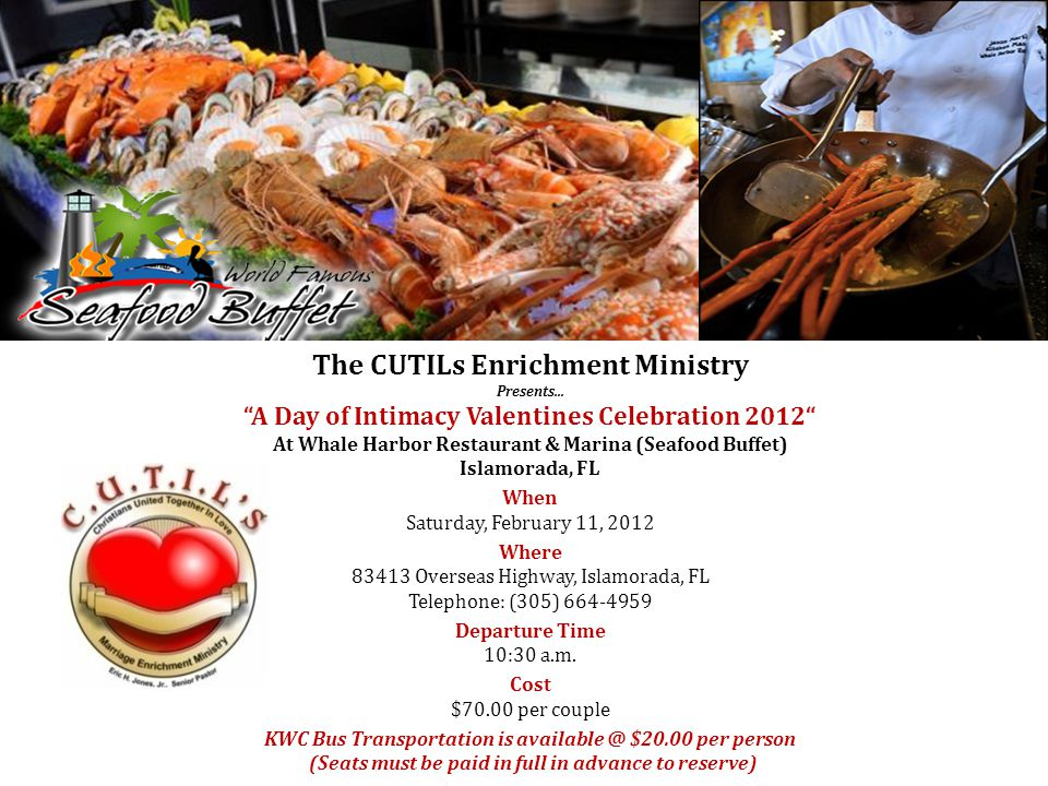 The CUTILs Enrichment Ministry Presents...