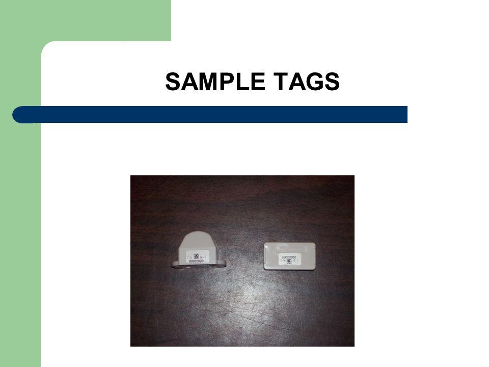 SAMPLE TAGS