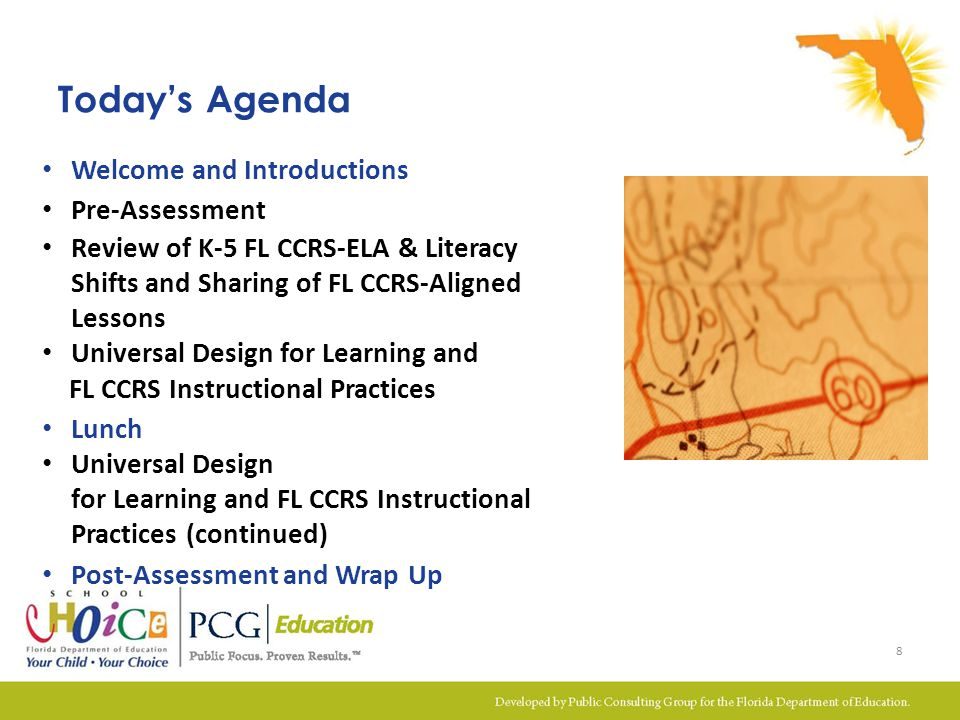 Module 5B Outcomes Assessed understanding of the instructional shifts, aligned instructional practices, and Universal Design for Learning Shared experiences with developing and delivering FL CCRS lessons Examined lessons that teacher leaders have developed and delivered using the EQuIP Rubric and process Examined UDL supports to lessons aligned with the three instructional shifts Collaborated on possible UDL supports to FL CCRS-ELA & Literacy aligned lessons Identified relevant resources for implementation and strengthened the peer support network 79