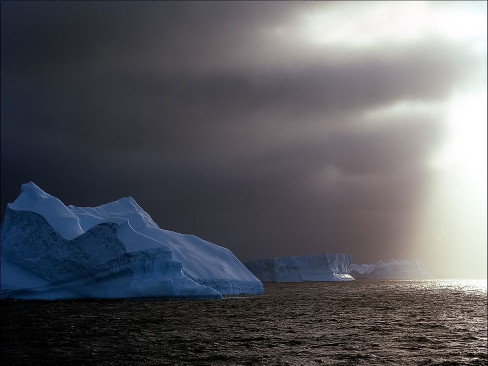 Antarctica has the lowest temperatures in our planet reaching 70° Celsius below zero with winds of 300 km.