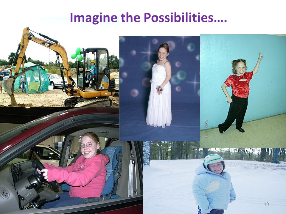 Imagine the Possibilities…. 40