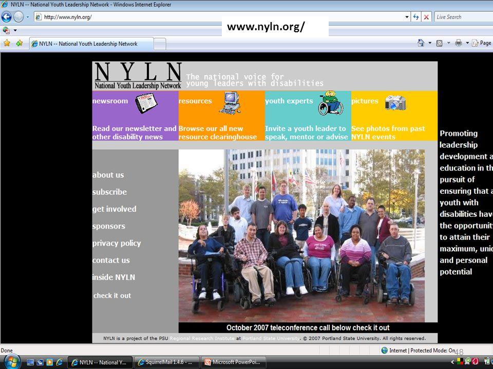 ??? NYLN www.nyln.org/ 48