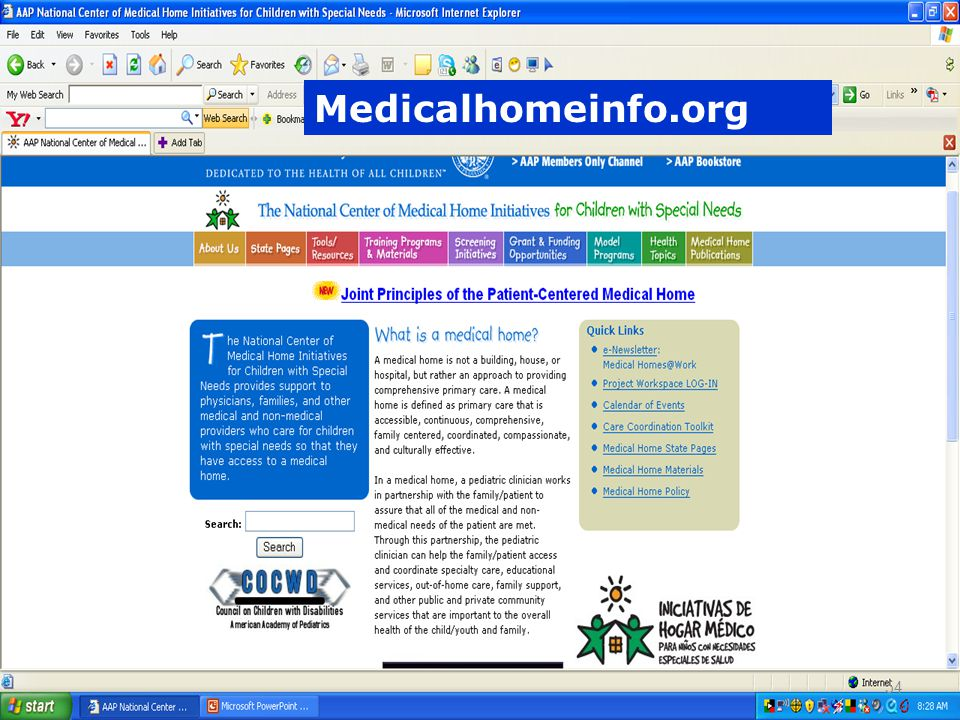 Medicalhomeinfo.org 54