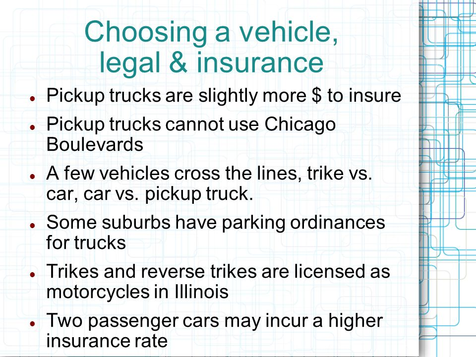 Choosing a vehicle - Practical How many passengers do you need to carry.
