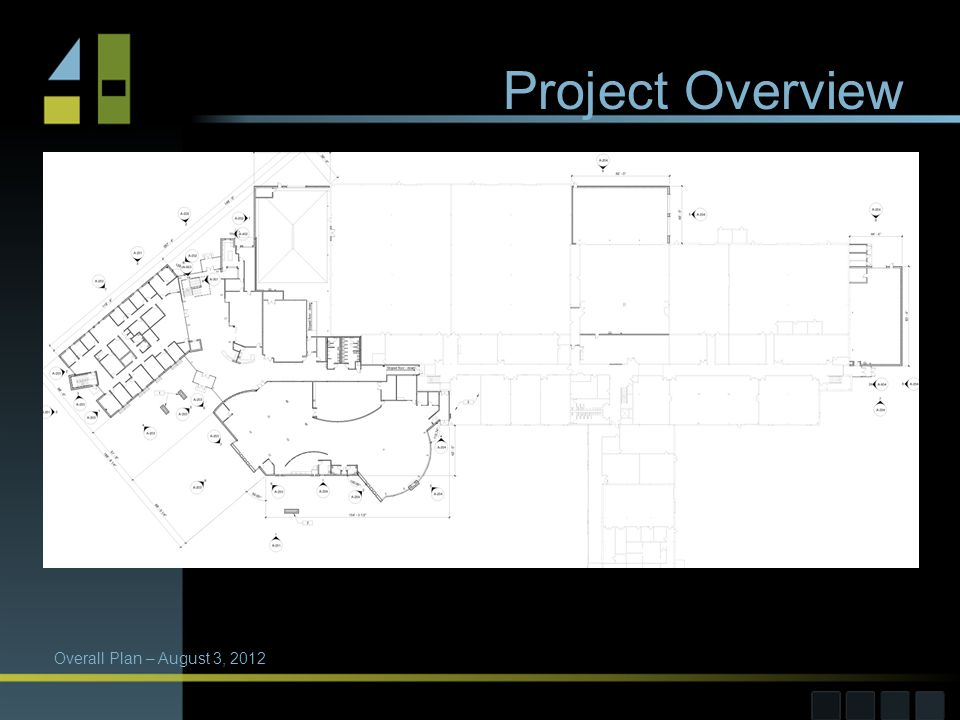 Project Overview Overall Plan – August 3, 2012