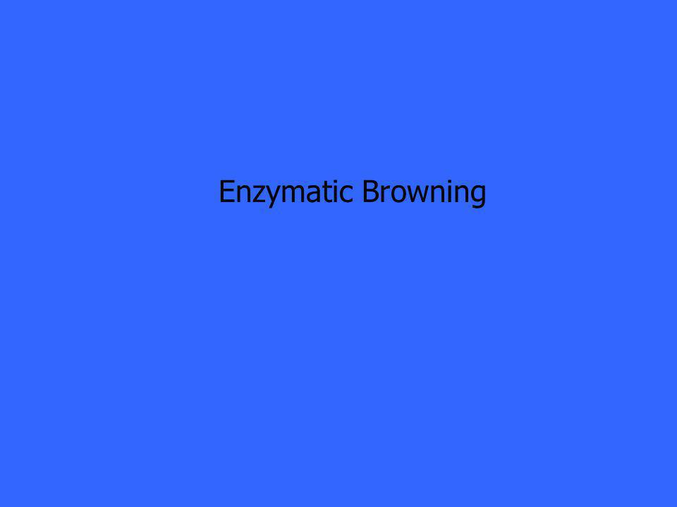 Enzymatic Browning