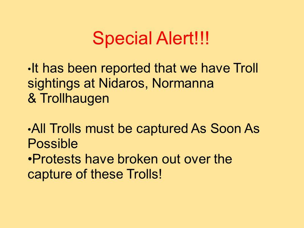 Special Alert!!.