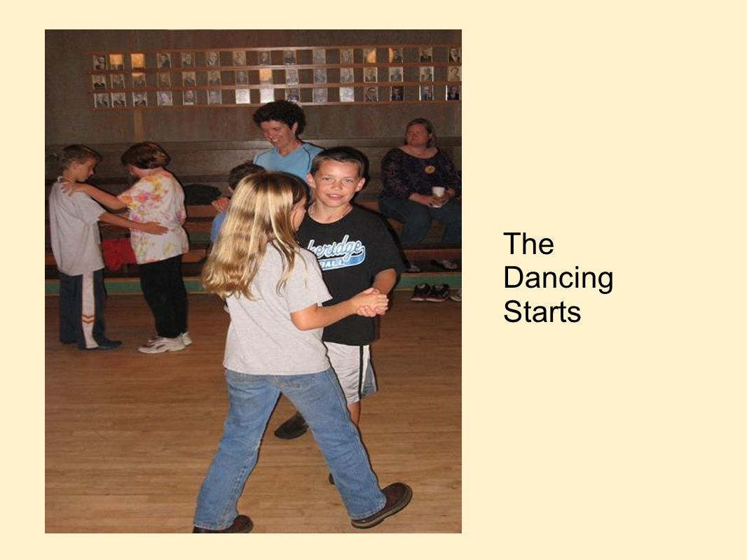 The Dancing Starts
