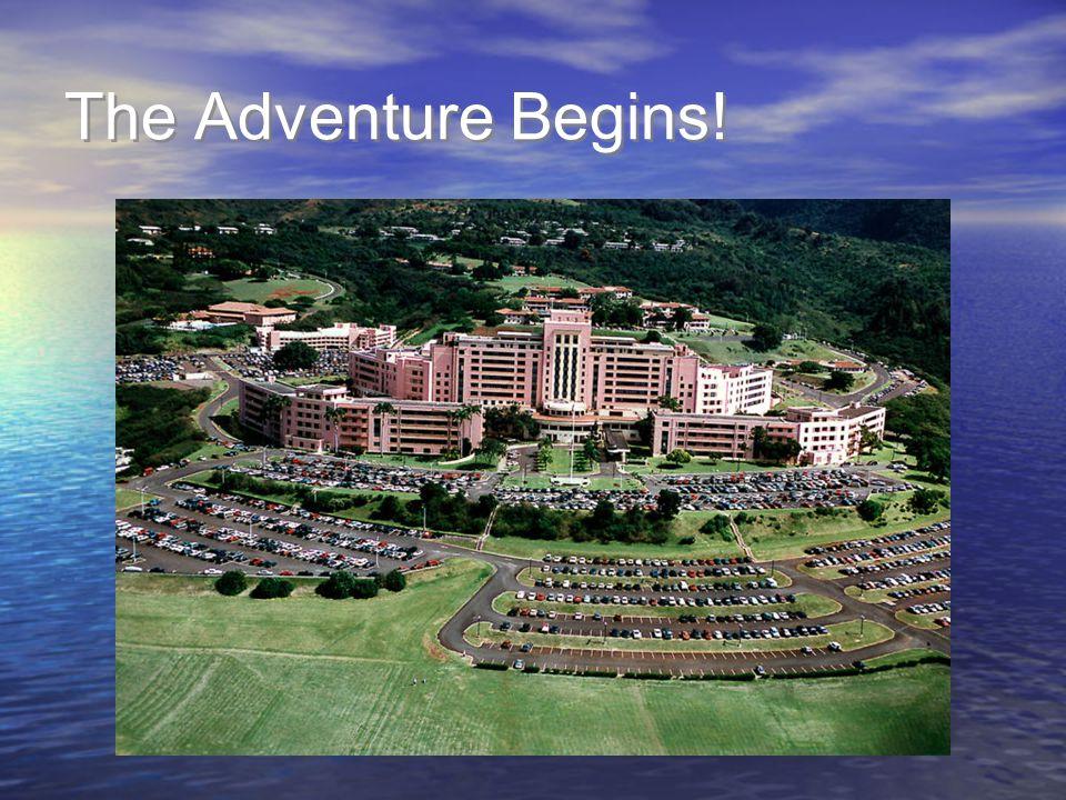 The Adventure Begins!