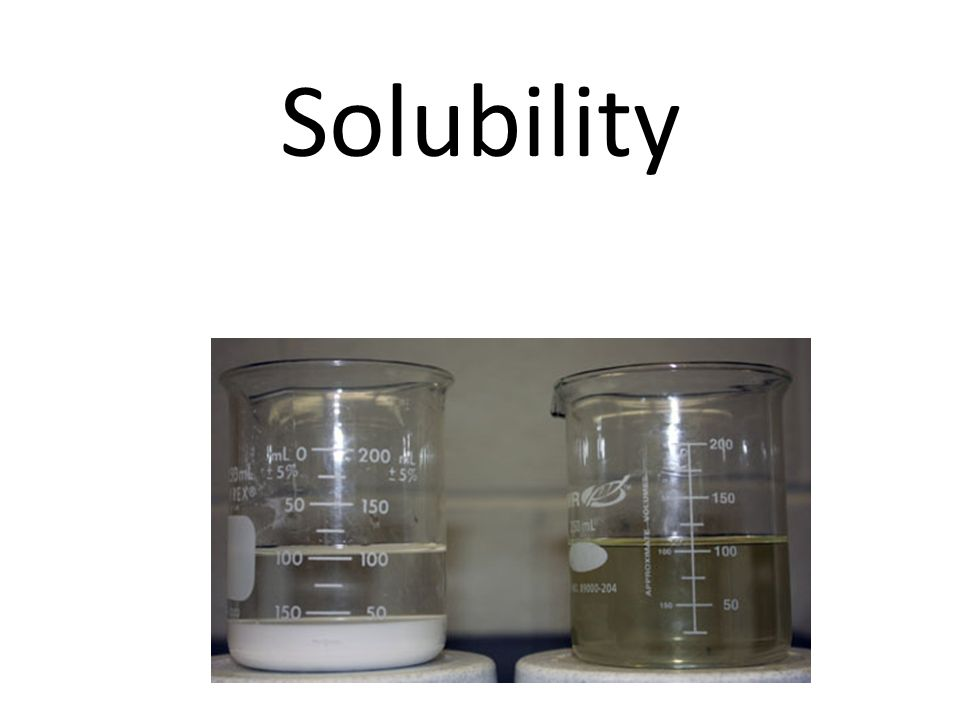 Precipitation problems A saturated solution of KNO 3 is prepared in 100 g of water at 50  C and then cooled down to 10  C.