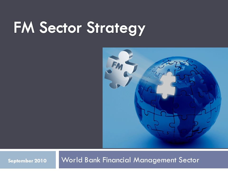 World Bank Financial Management Sector September 2010