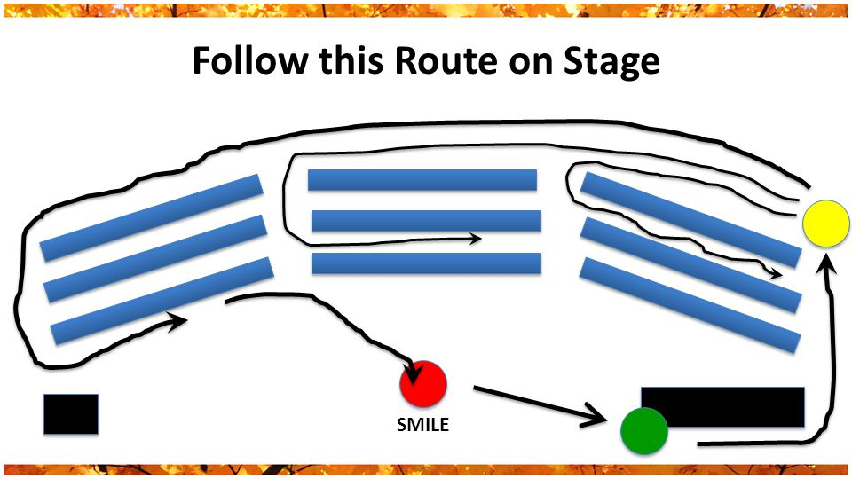 Follow this Route on Stage SMILE
