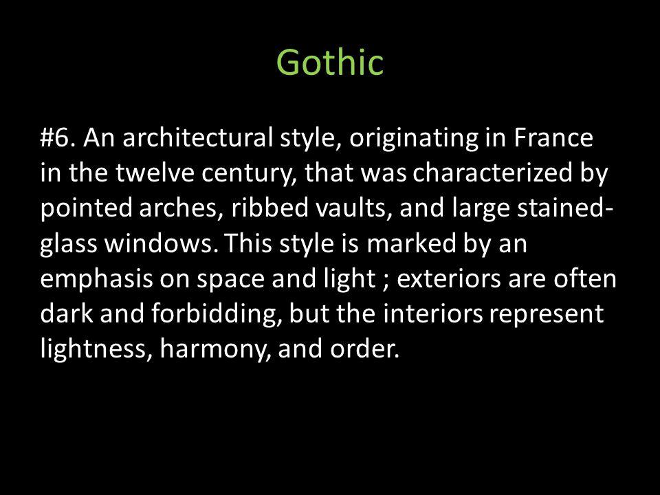Gothic #6.