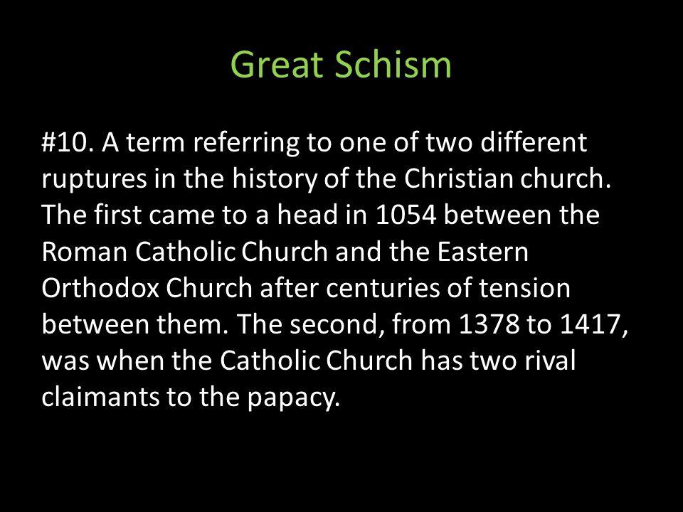 Great Schism #10.