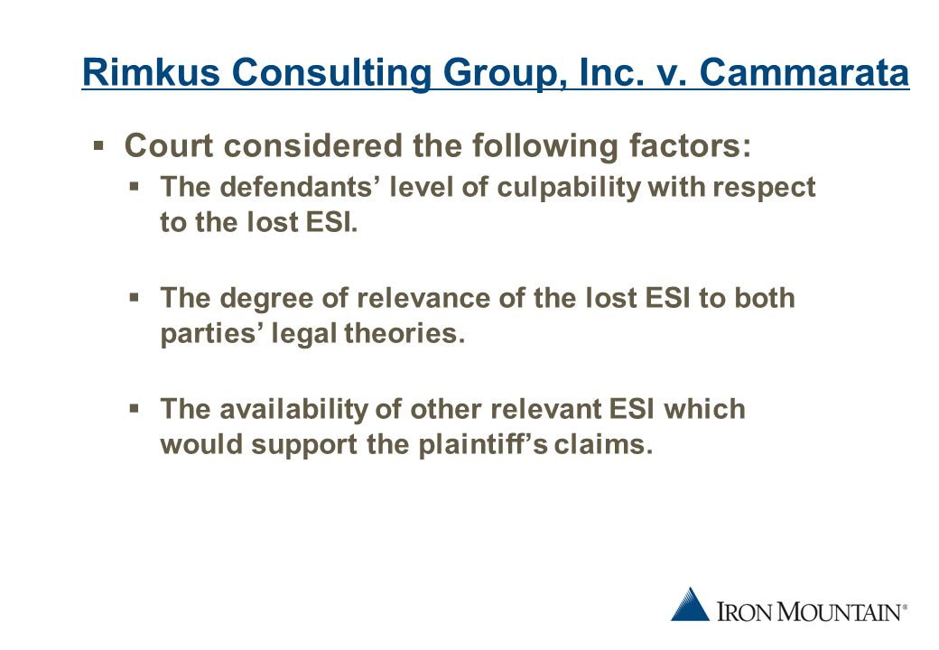 12 Rimkus Consulting Group, Inc. v.