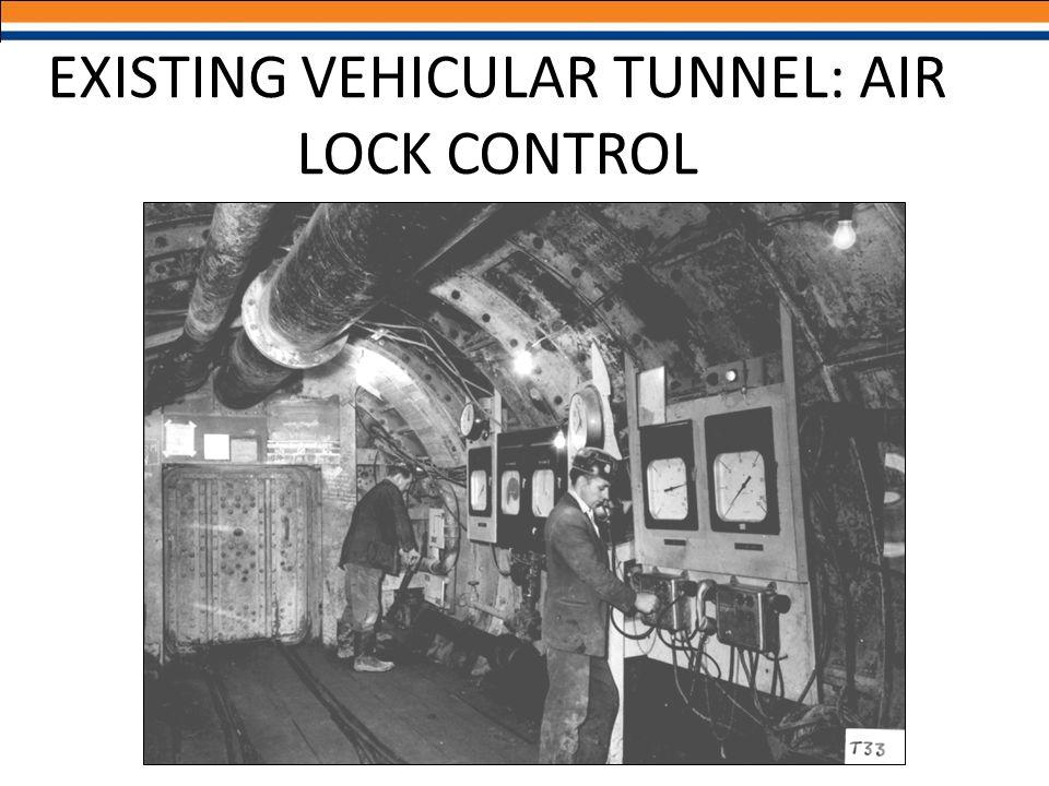 EXISTING VEHICULAR TUNNEL: AIR LOCK CONTROL