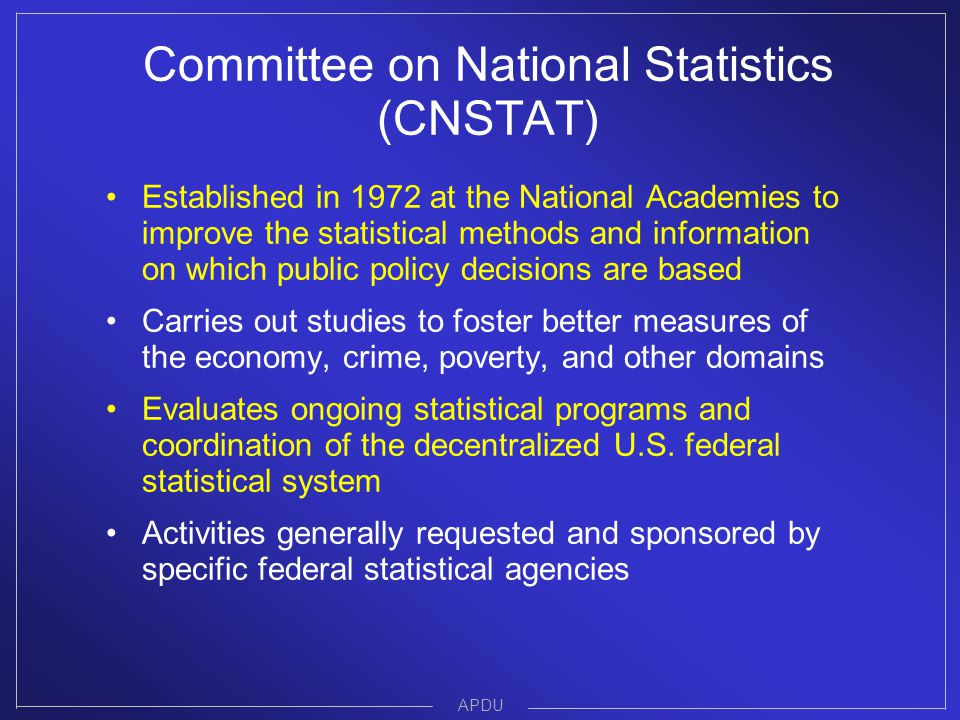 Some recent CNSTAT reports addressing census & ACS topics