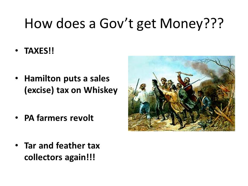 How does a Gov't get Money . TAXES!.