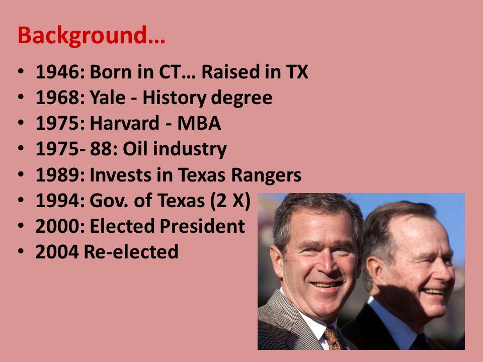 G.W. Bush and Civil Liberties
