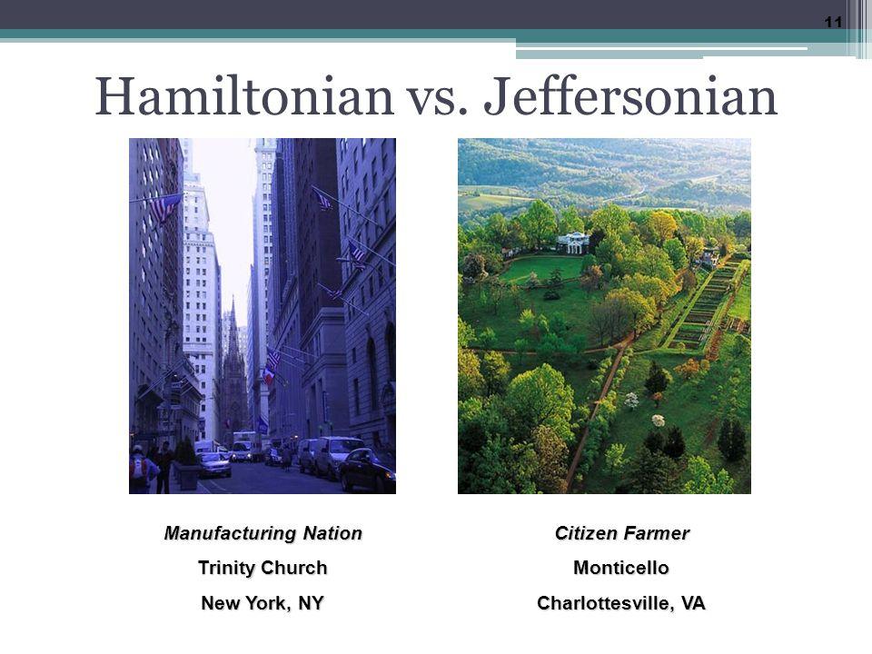 Hamiltonian vs.