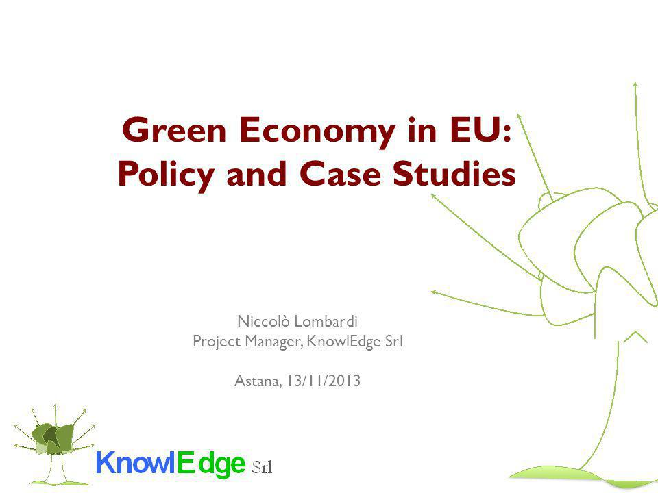 Contents 1.Introduction 2.GE Policy in EU 3.Energy Efficiency and Renewable Energy 4.GHG Emissions and Air Pollution 5.Waste 6.Water 7.Sustainable Production and Consumption 8.Biodiversity 9.Conclusion