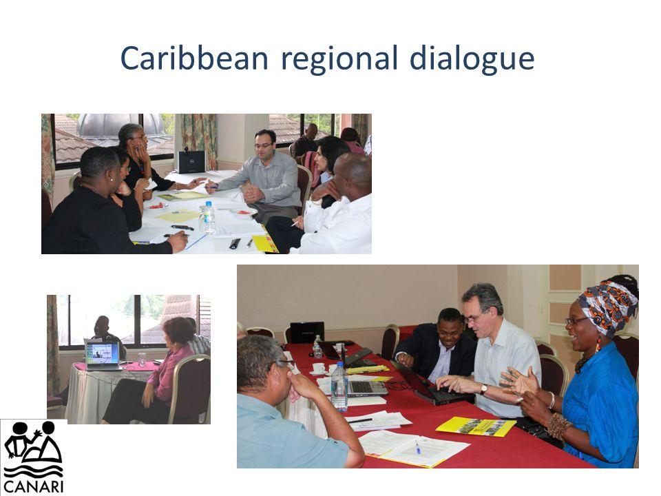 Caribbean regional dialogue