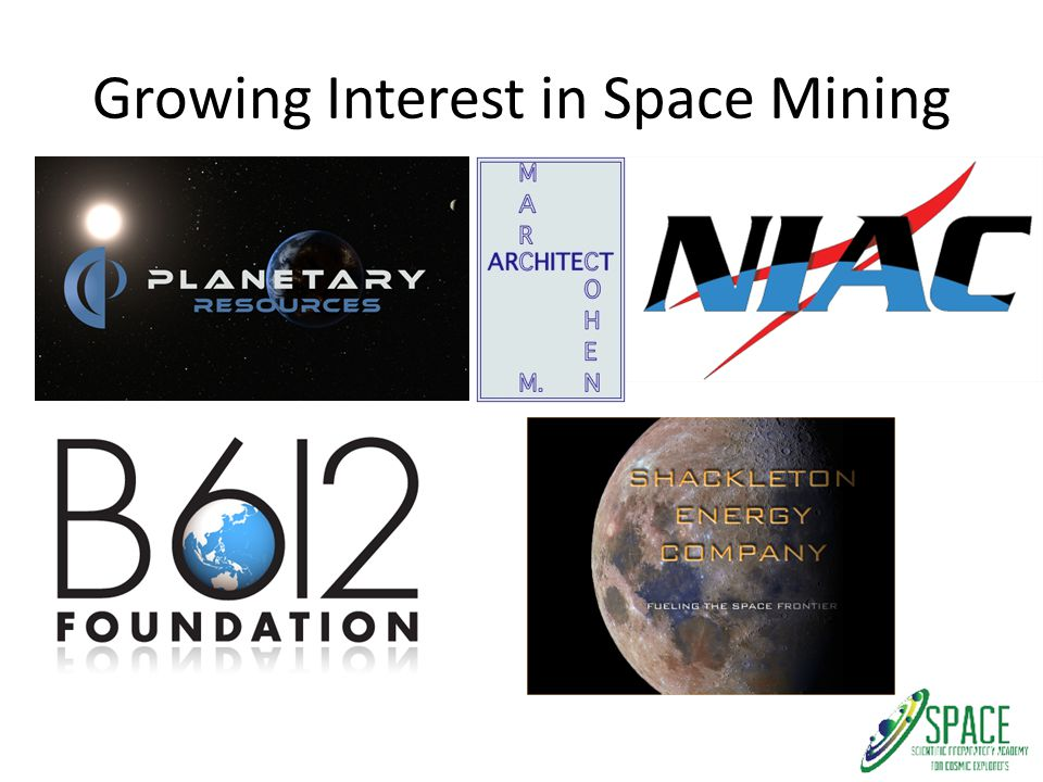 Growing Interest in Space Mining