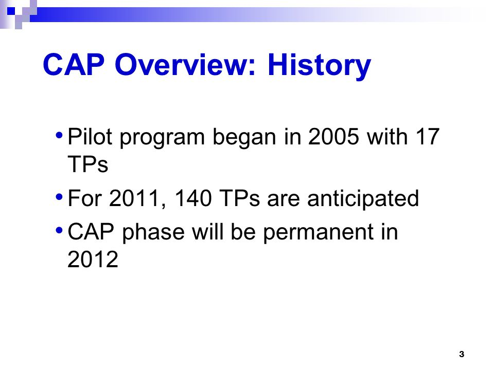 14 Pre-CAP Phase: Requirements (2) TP agrees to identify issues within transactions TP agrees to provide information in a timely manner to resolve issues