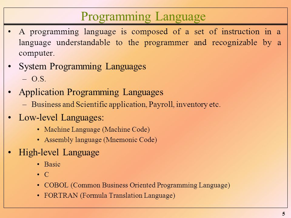 6 Compiler, Interpreter, Loader, Linker Compiler –A high level program source code transfer into a form of machine under standable code, this process is done by compiler.