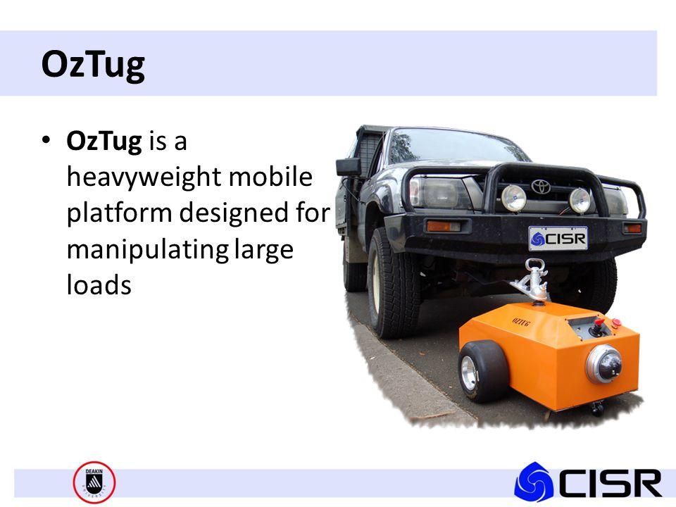 OzTug OzTug is a heavyweight mobile platform designed for manipulating large loads