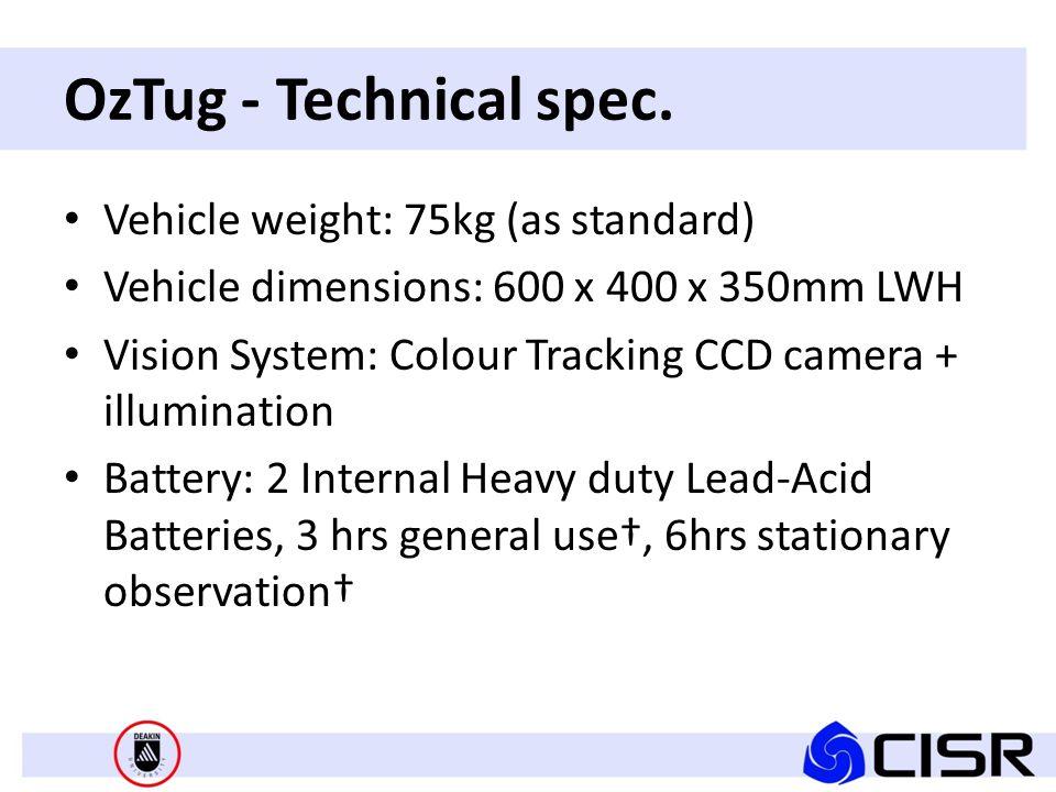 OzTug - Technical spec.