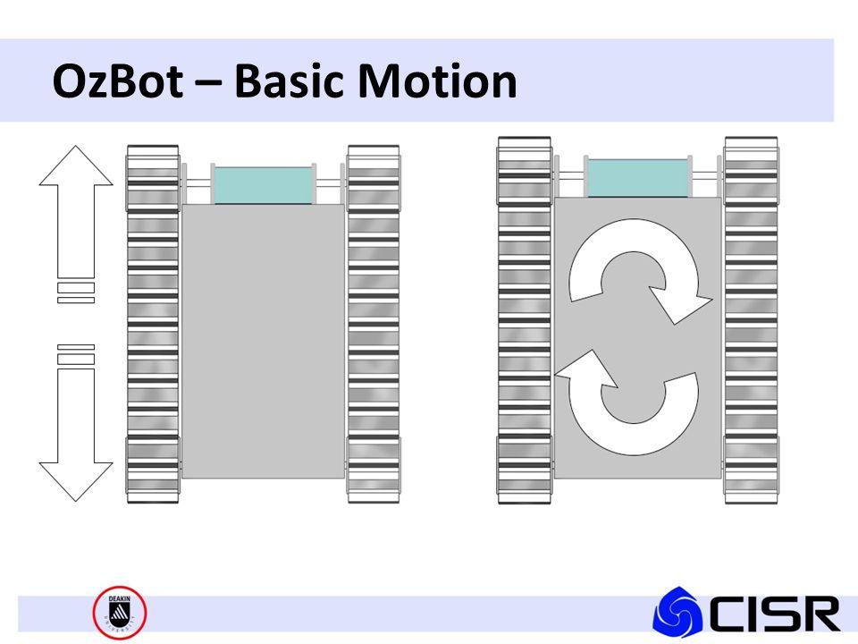 OzBot – Basic Motion