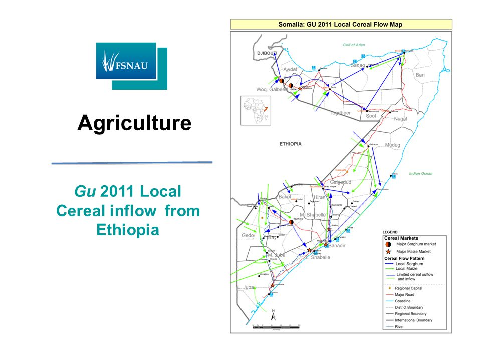 Gu 2011 Local Cereal inflow from Ethiopia Agriculture