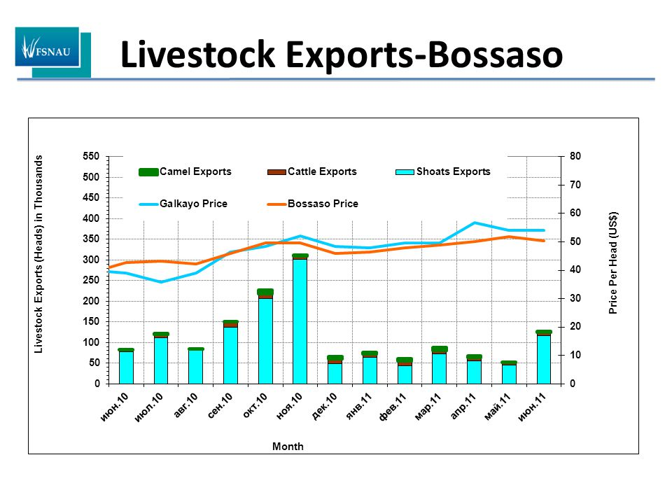 Livestock Exports-Bossaso