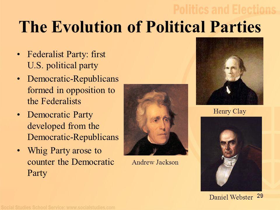 Hamilton versus Jefferson Alexander Hamilton led the Federalists.