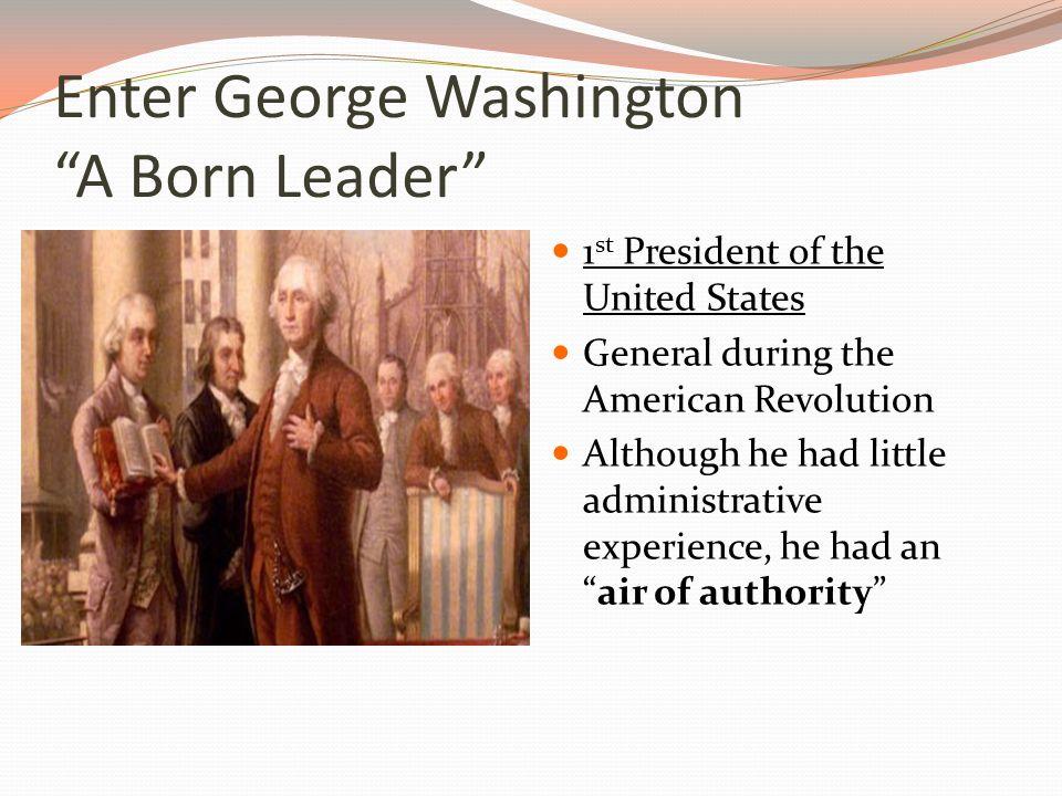 Why do you think Washington chose to lead the troops himself?