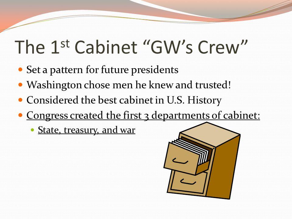 Washington's Farewell Address Before he retired, Washington gave a farewell address (speech).