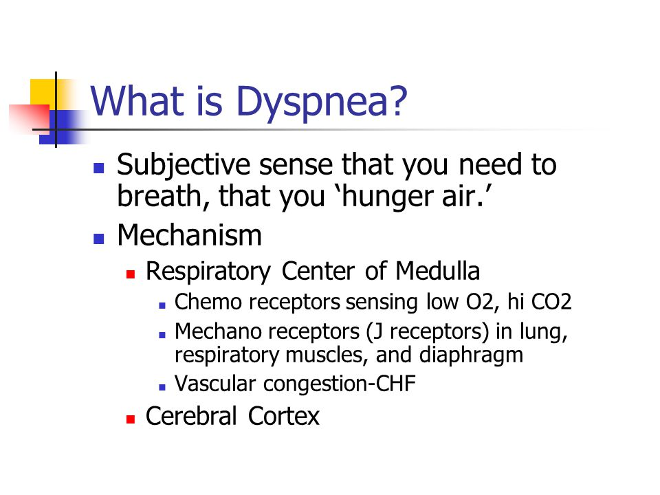 What is Dyspnea.