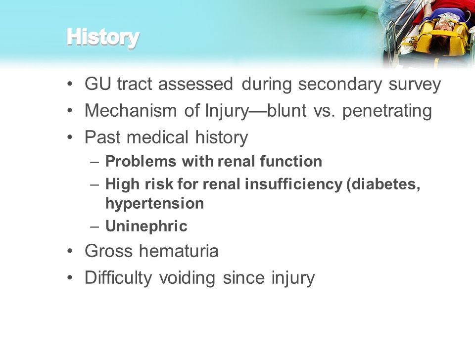 Injured or uninjured?