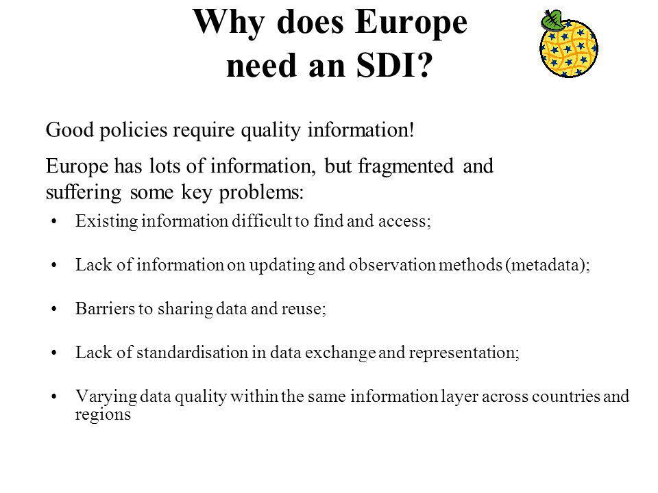 Why does Europe need an SDI.