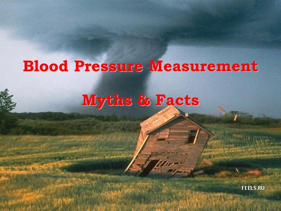 Blood Pressure Measurement Myths & Facts