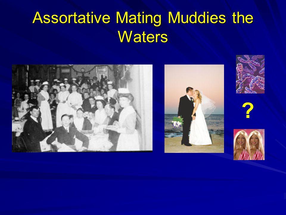 Assortative Mating Muddies the Waters ?
