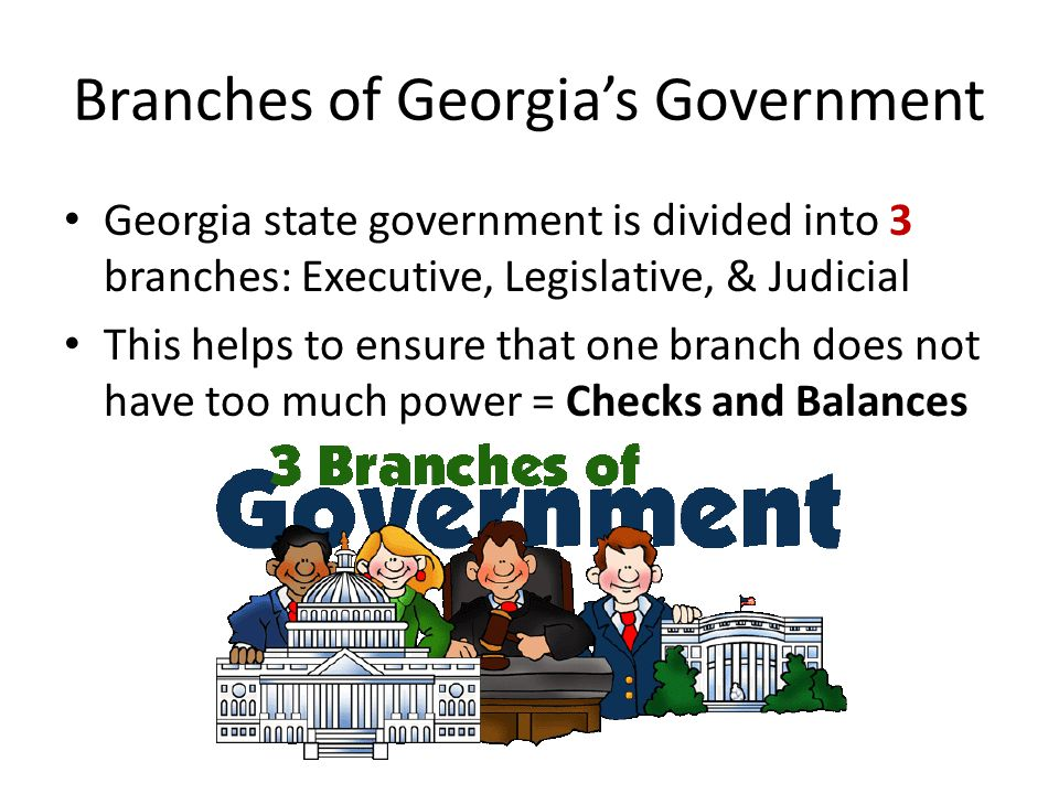 Executive Branch-Governor of Georgia Nathan Deal was sworn in as Georgia's 82 nd Governor on January 10, 2011.