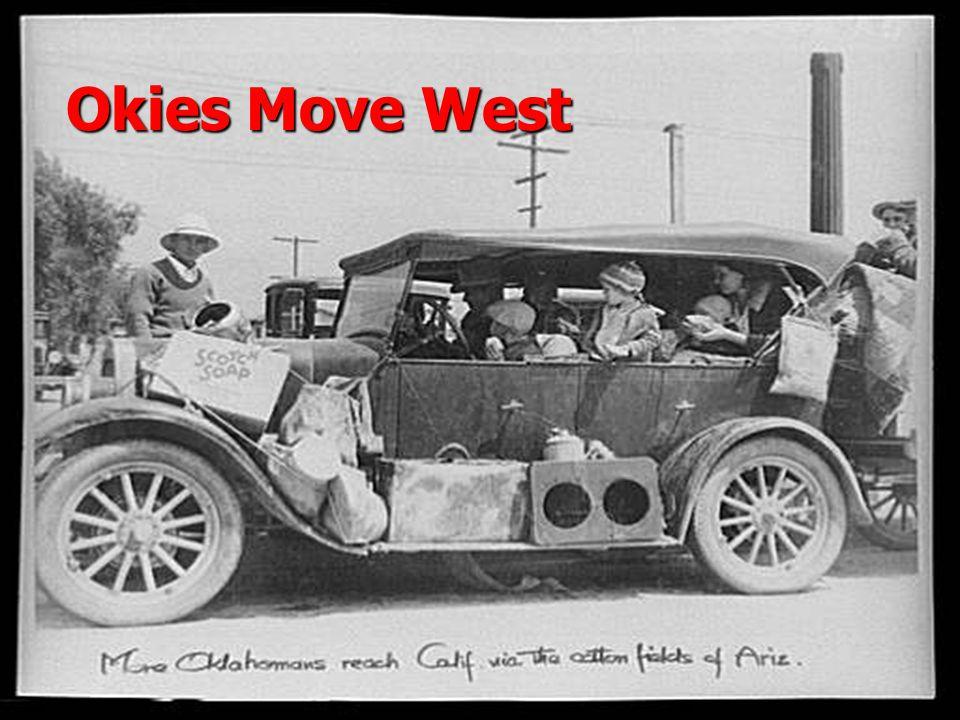 Okies Move West