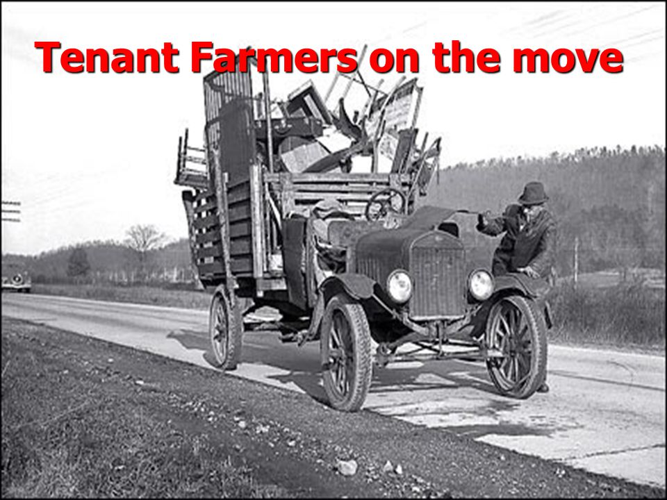 Tenant Farmers on the move