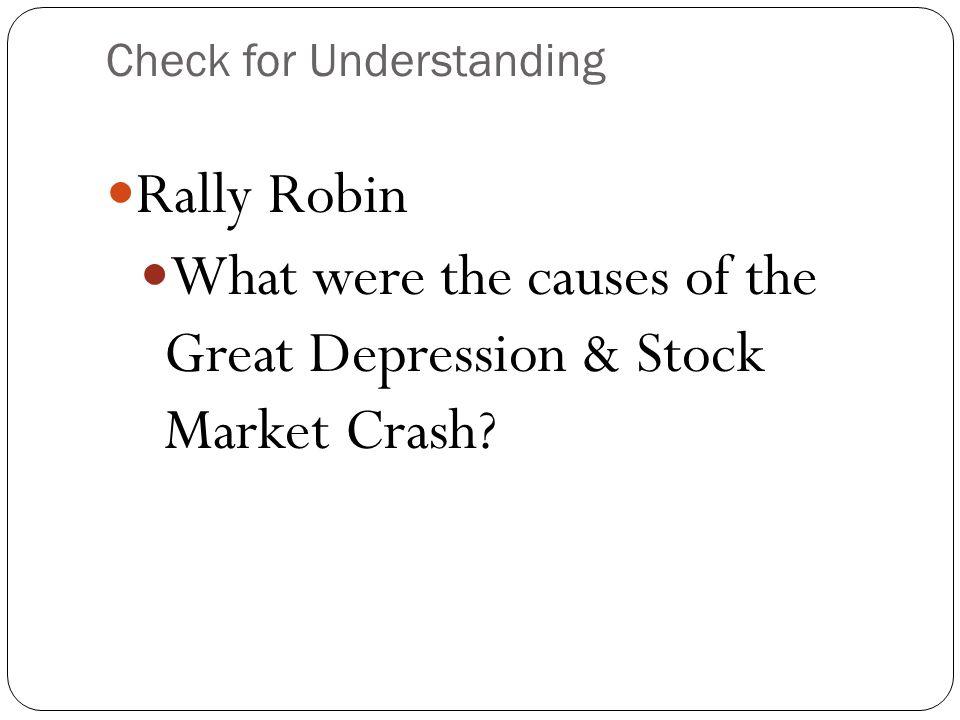 Stock Market Crash, Black Thursday, Oct.29, 1929 How??.
