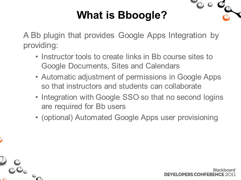 What is Bboogle.